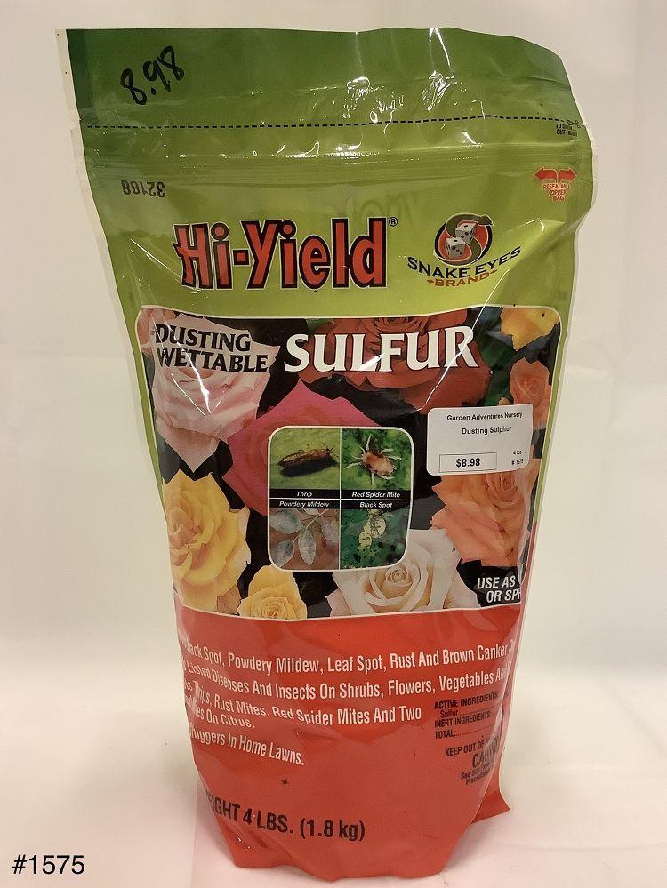 Sulfur Wettable