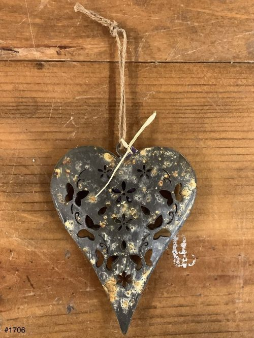 Metal Heart decor