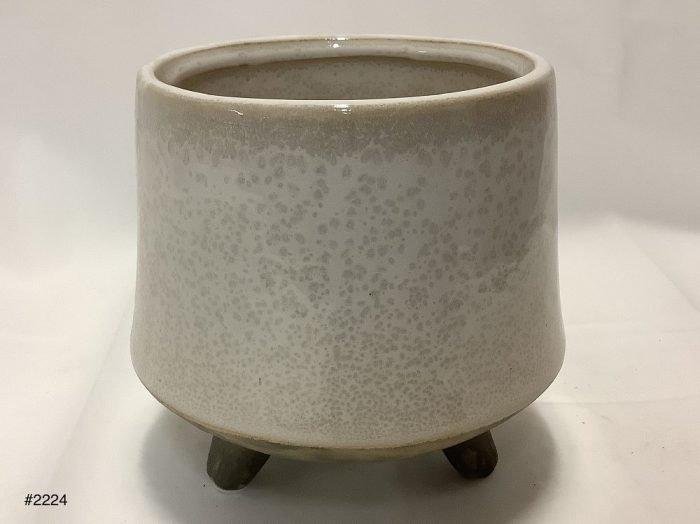Planter, Stoneware w/feet