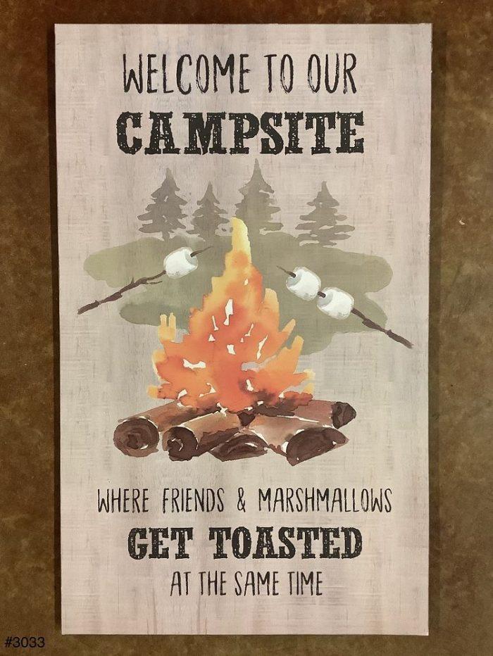 Plaque Campsite