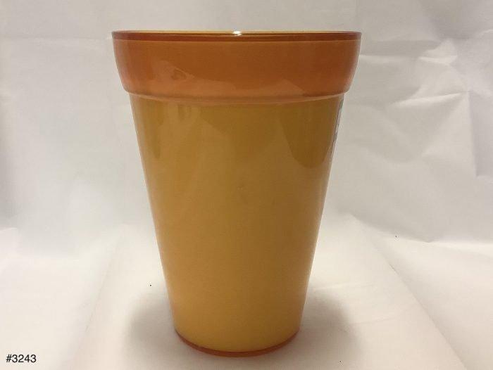 Vase Plastic Crescent