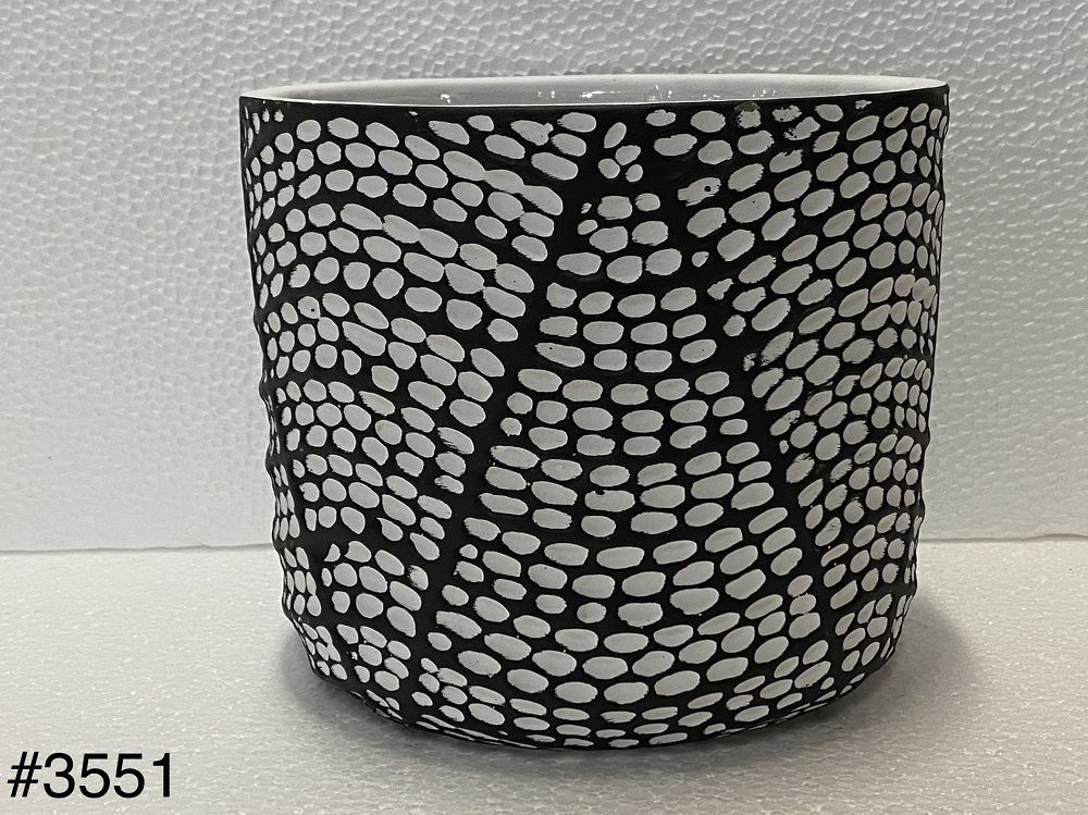 Stoneware Pot w/ hole
