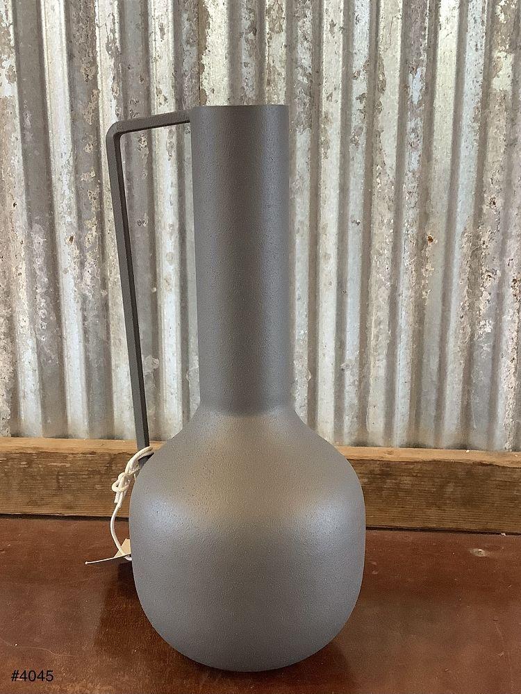 Metal Vase w/ Handle