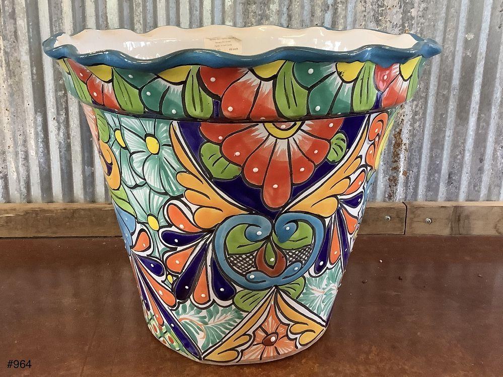 Talavera Pot 15 inch